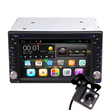 6.95 Inch Quad Core 2DIN Android OS Car Dash DVD MP3 MP4 Player GPS WIFI Bluetooth Hean Unit Stereos