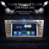 2Din Car In Dash DVD Player Android GPS Radio Bluetooth WIFI Head Unit