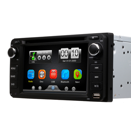 Universal 2Din Car In Dash DVD Player  with Camera For Toyota RAV4 COROLLA EX CAMRY CELICA MR2