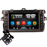 2Din Car In Dash DVD Player Radio Bluetooth Head Unit Stereos for COROLLA 07-11 Without GPS
