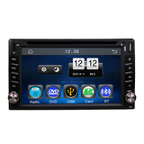 2Din Universal Car In Dash Touch Screen Bluetooth Radio  Media Player Head Unit Stereos  Without GPS